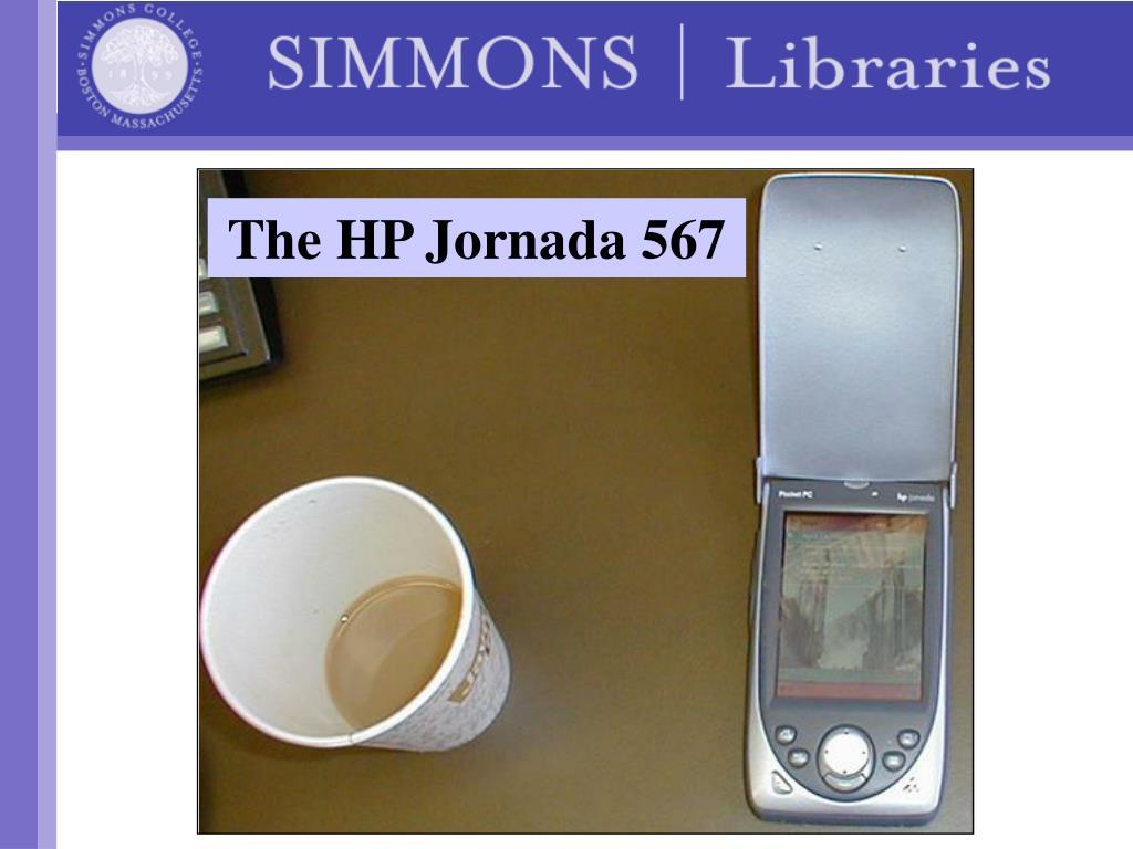 The HP Jornada 567
