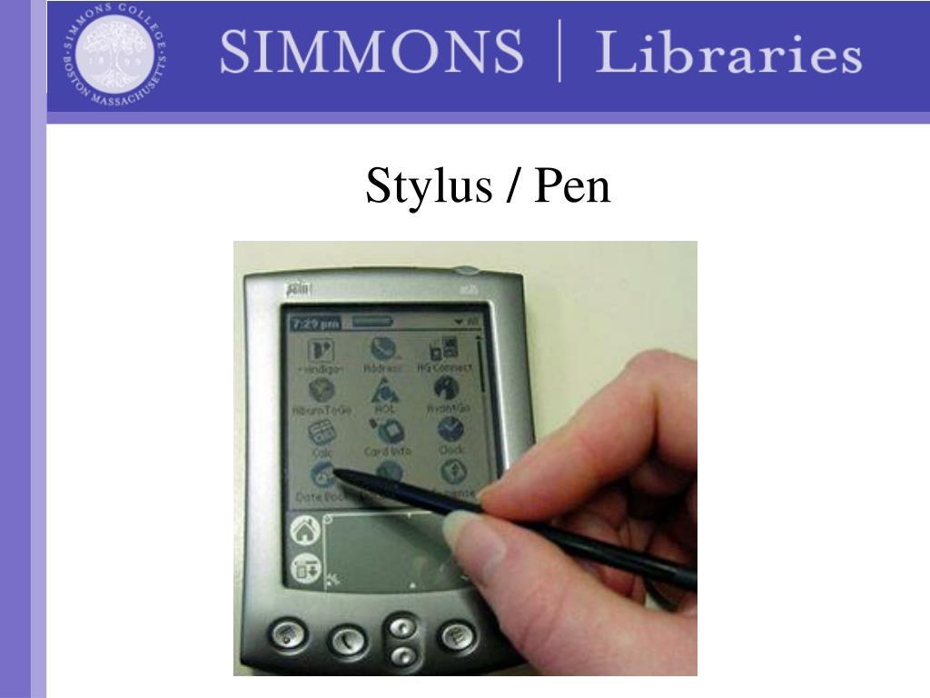Stylus / Pen