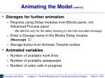animating the model cont d51