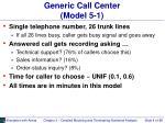 generic call center model 5 1