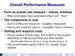 overall performance measures