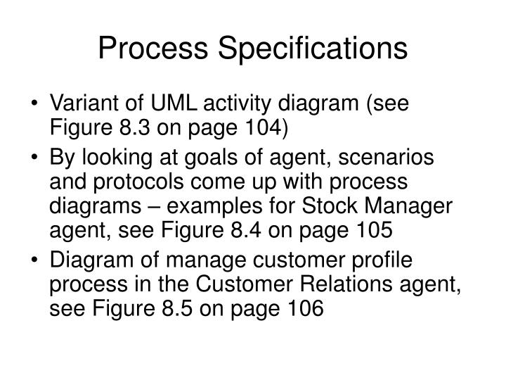 Process specifications
