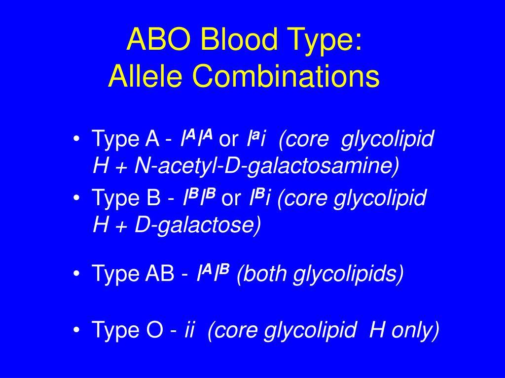 ABO Blood Type: