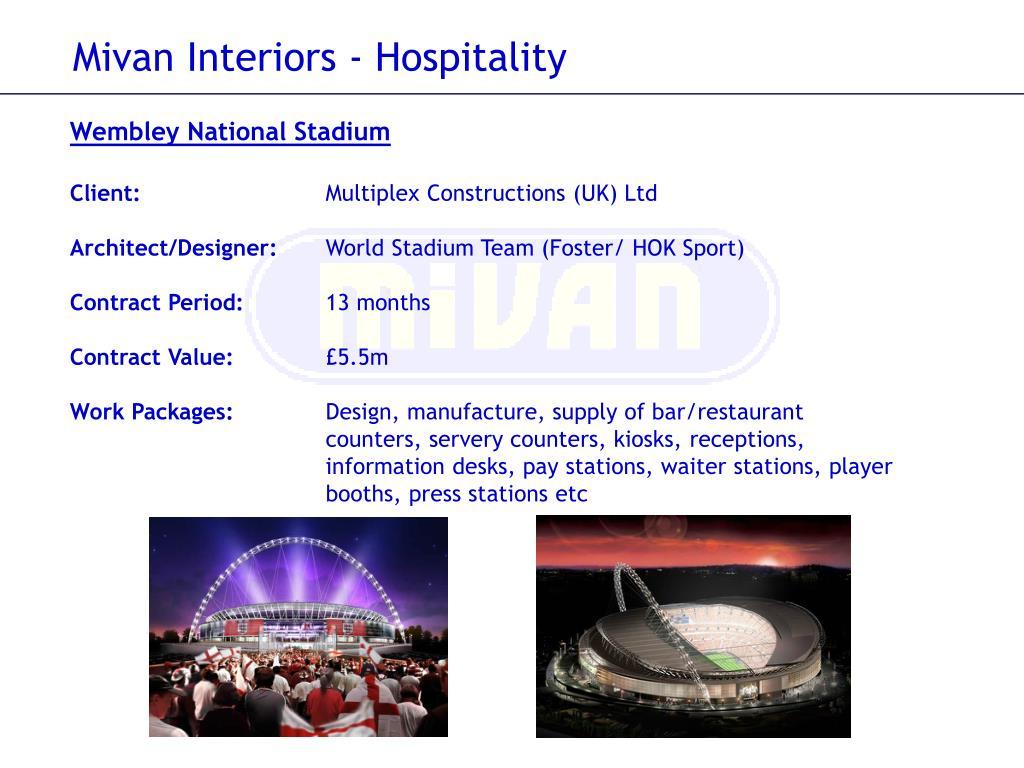Mivan Interiors - Hospitality