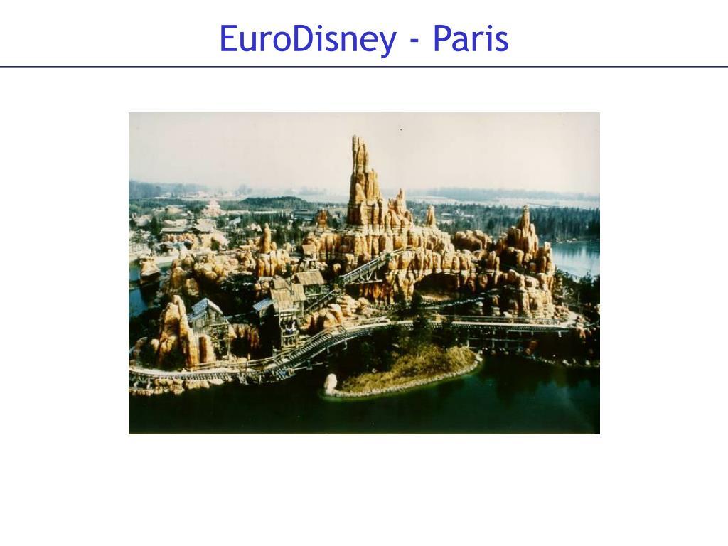 EuroDisney - Paris