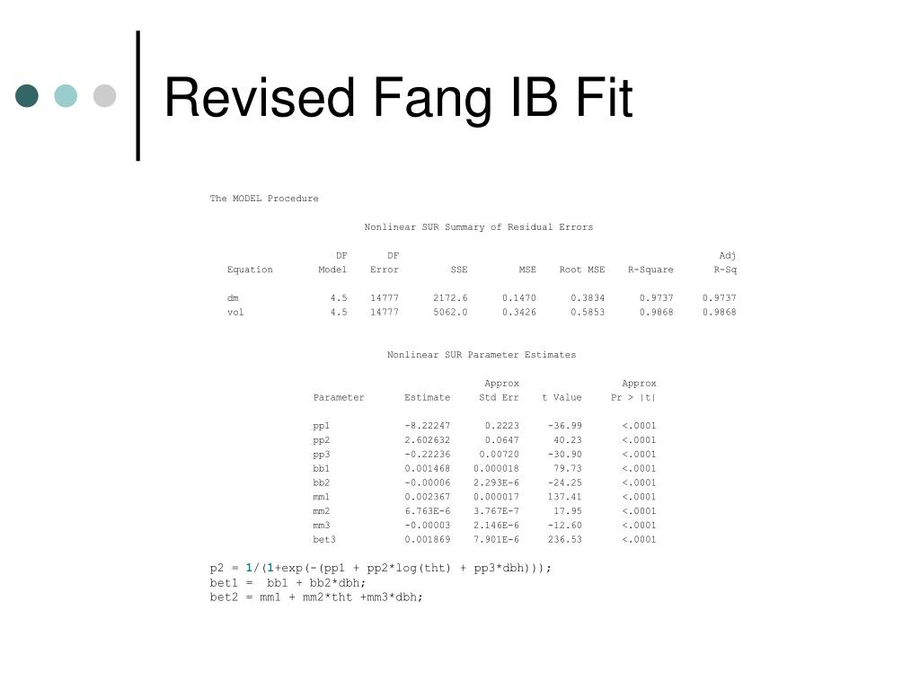 Revised Fang IB Fit