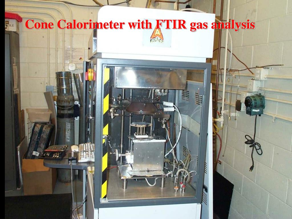Cone Calorimeter with FTIR gas analysis