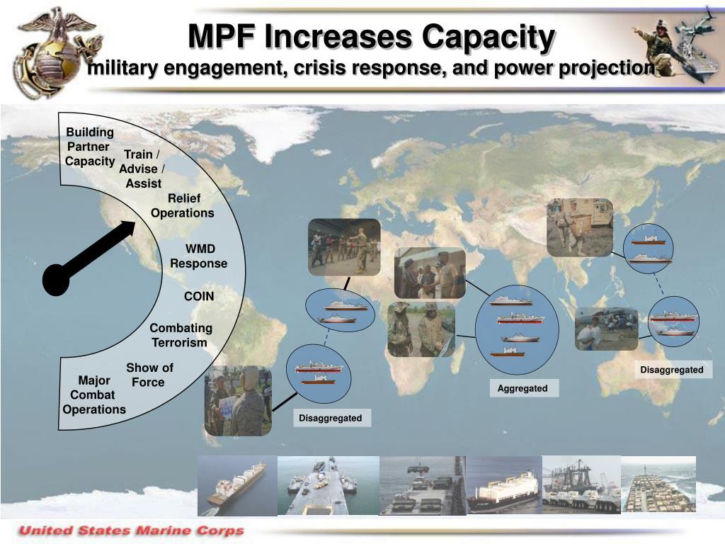 MPF Increases Capacity