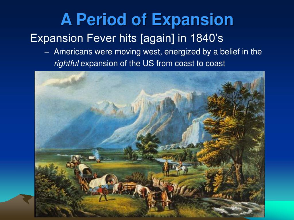 A Period of Expansion