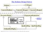 the mediator design pattern59