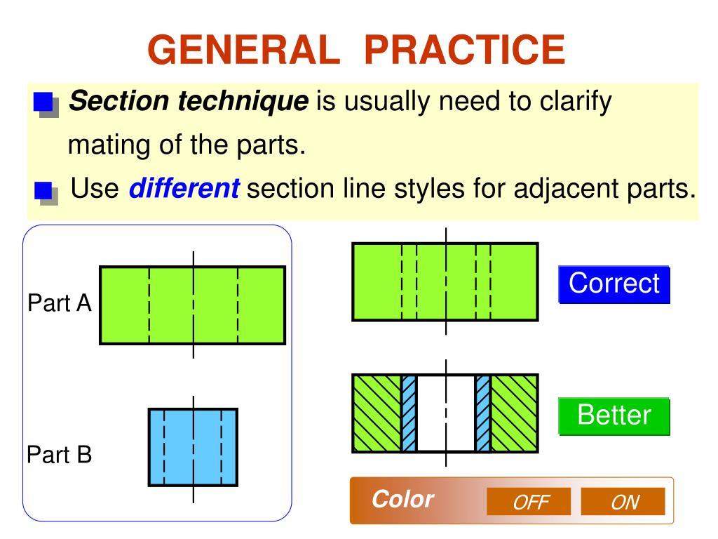 Section technique