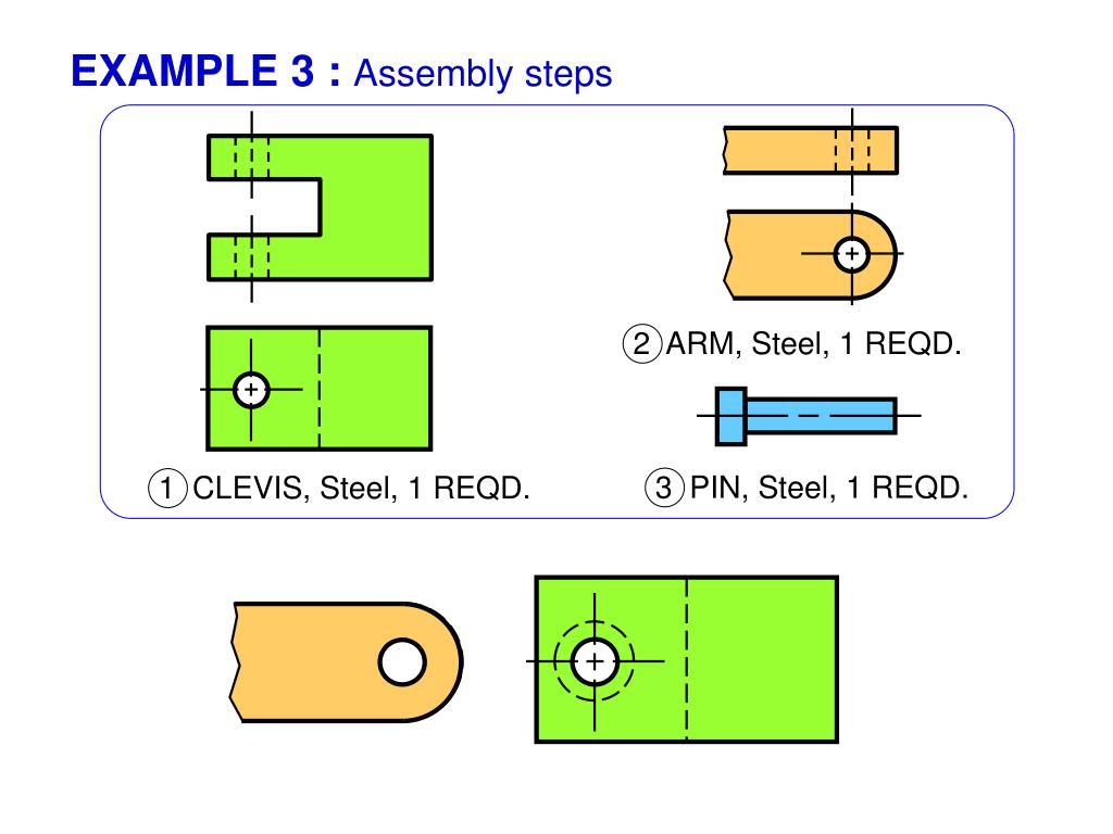3  PIN, Steel, 1 REQD.
