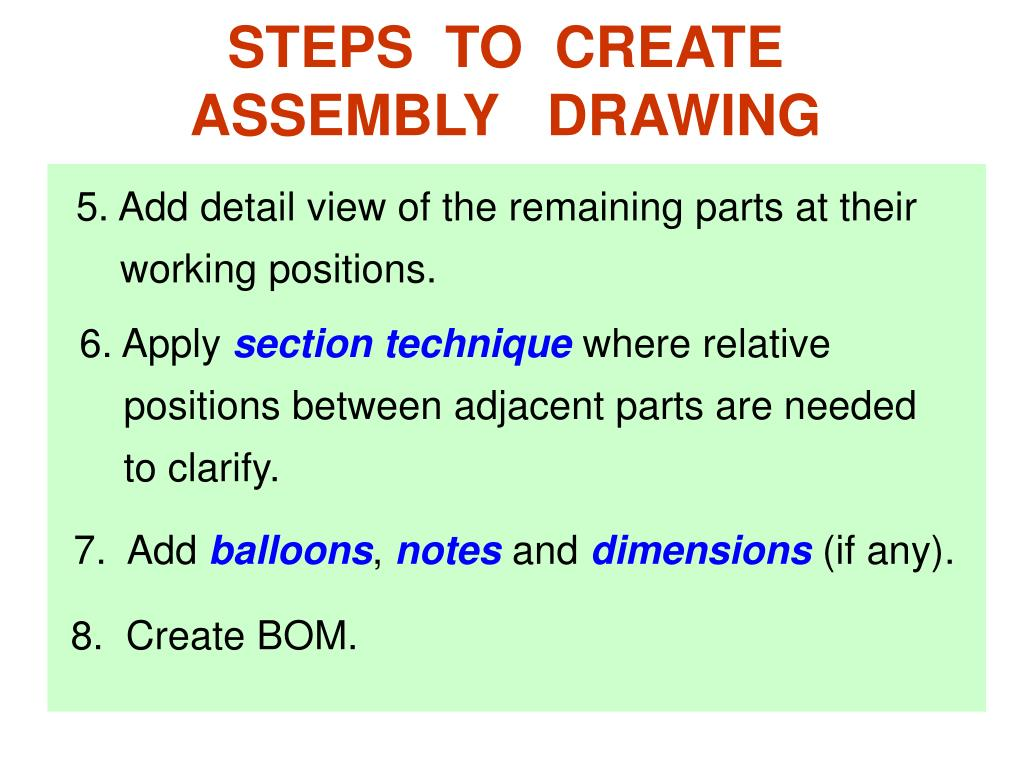 STEPS  TO  CREATE