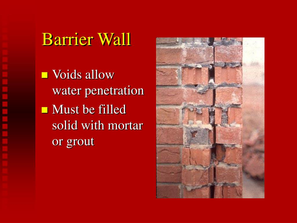 Barrier Wall