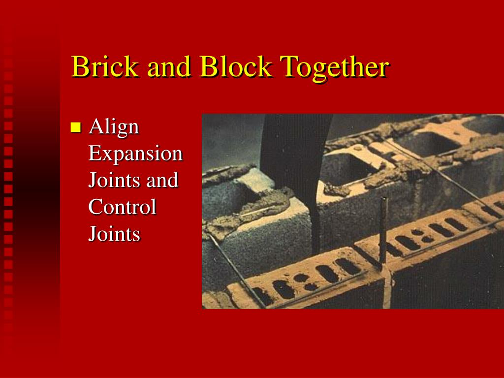 Brick and Block Together