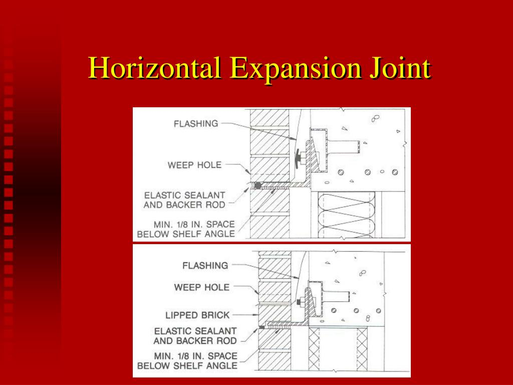 Horizontal Expansion Joint