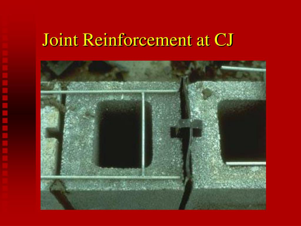 Joint Reinforcement at CJ