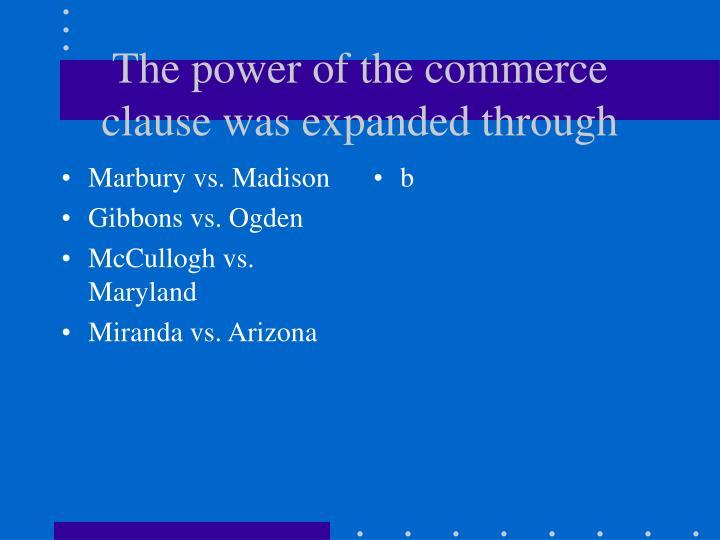 Marbury vs. Madison