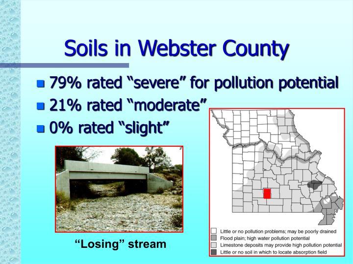 Soils in Webster County