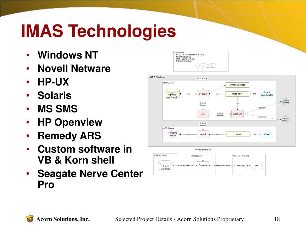 IMAS Technologies