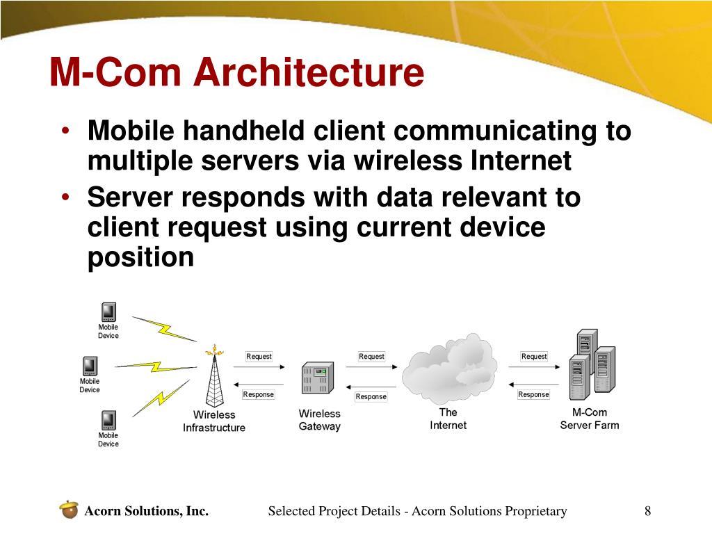M-Com Architecture