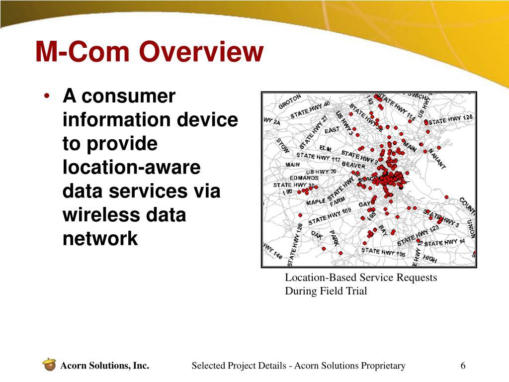 M-Com Overview