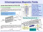 inhomogeneous magnetic fields