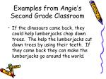 examples from angie s second grade classroom11