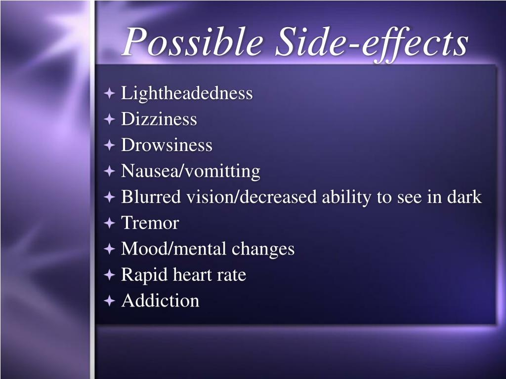 Possible Side-effects
