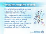 computer adaptive testing25