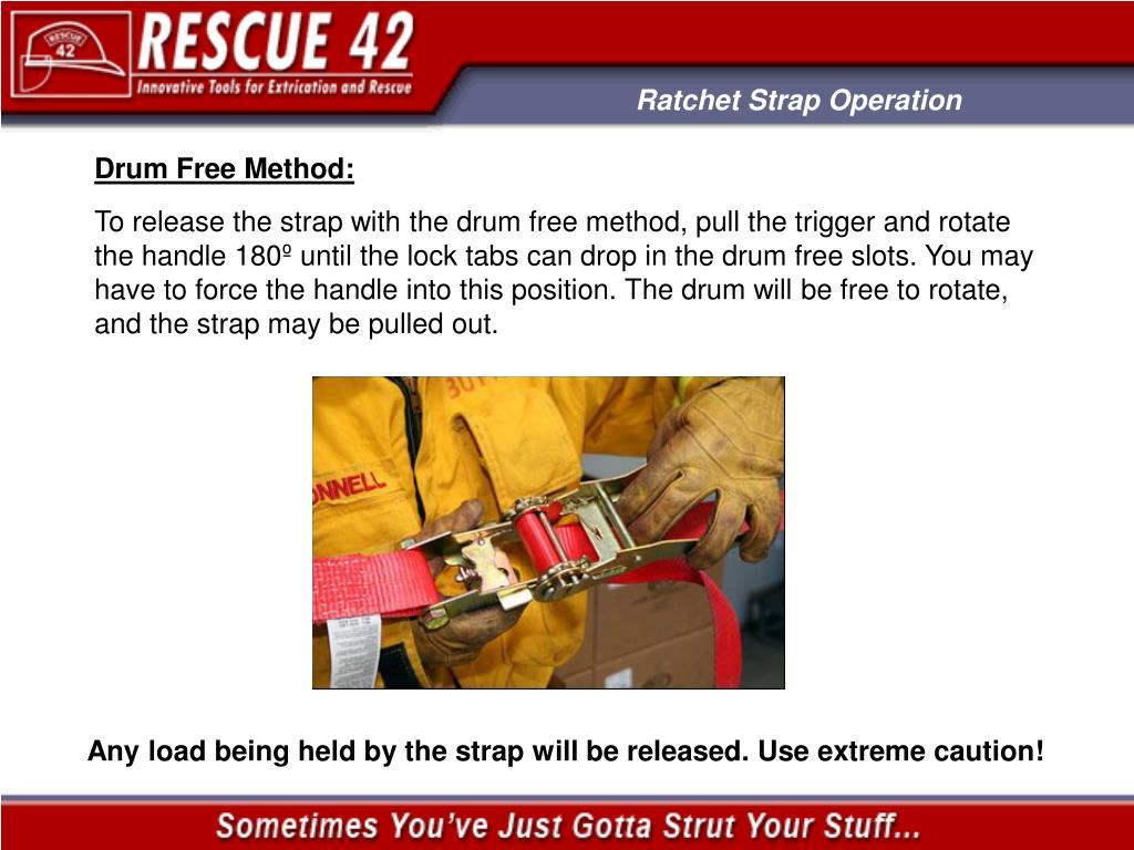 Ratchet Strap Operation