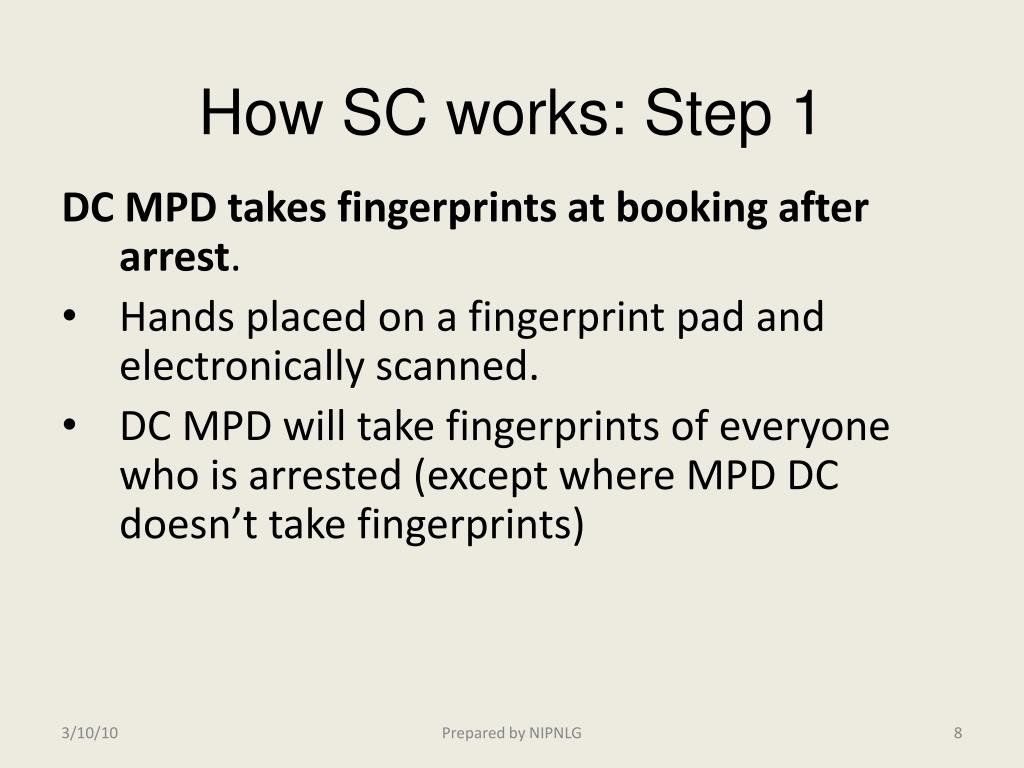 How SC works: Step 1