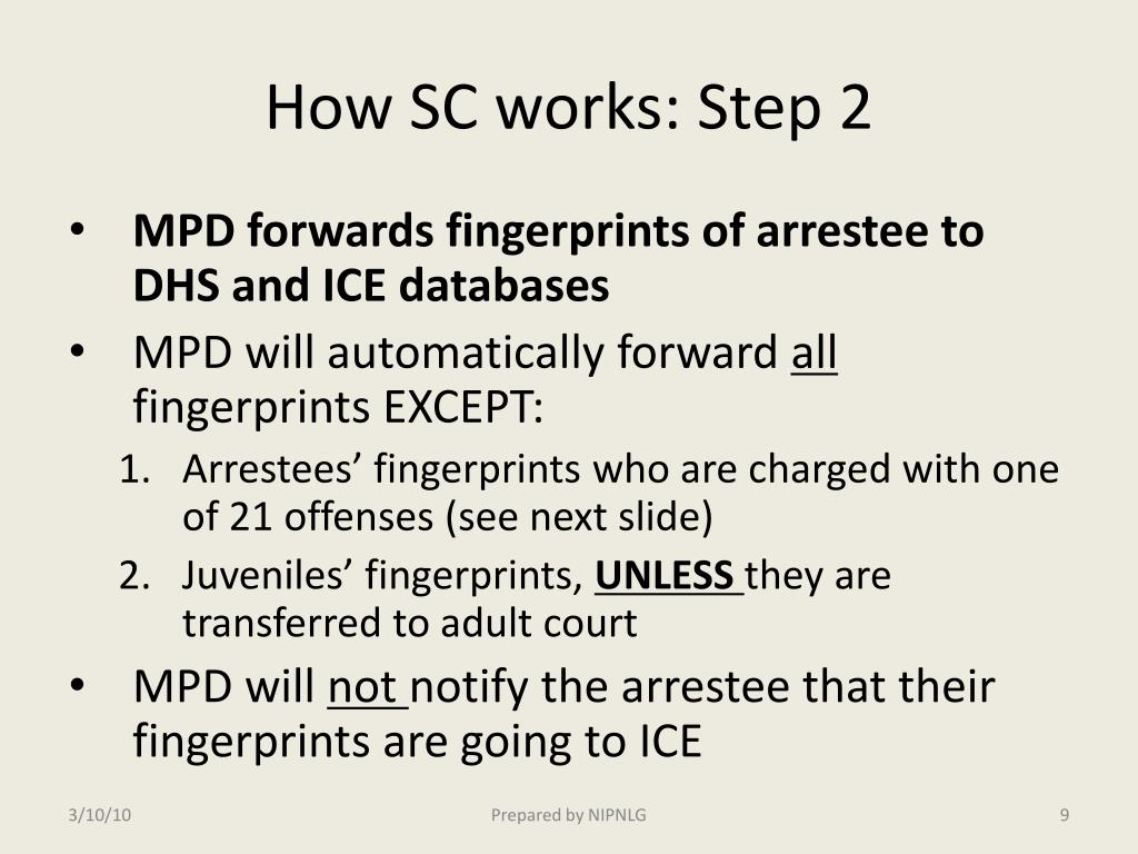 How SC works: Step 2