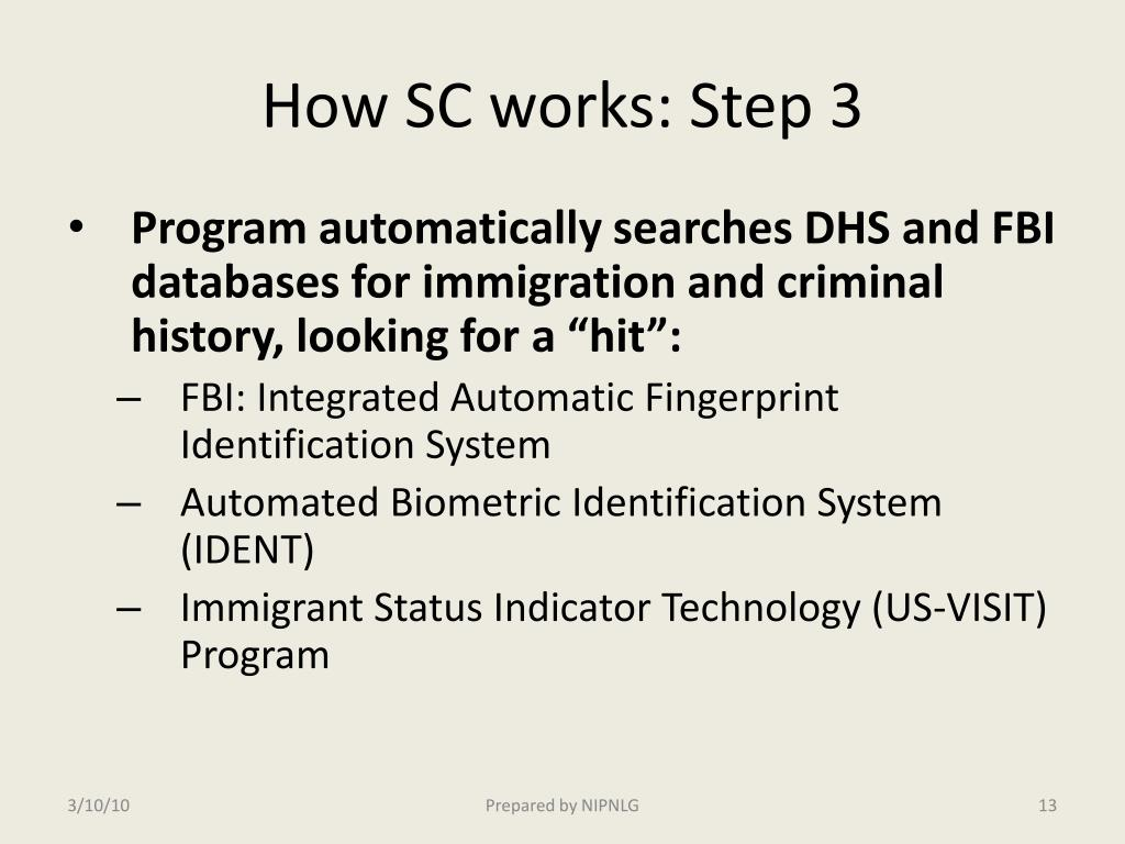 How SC works: Step 3