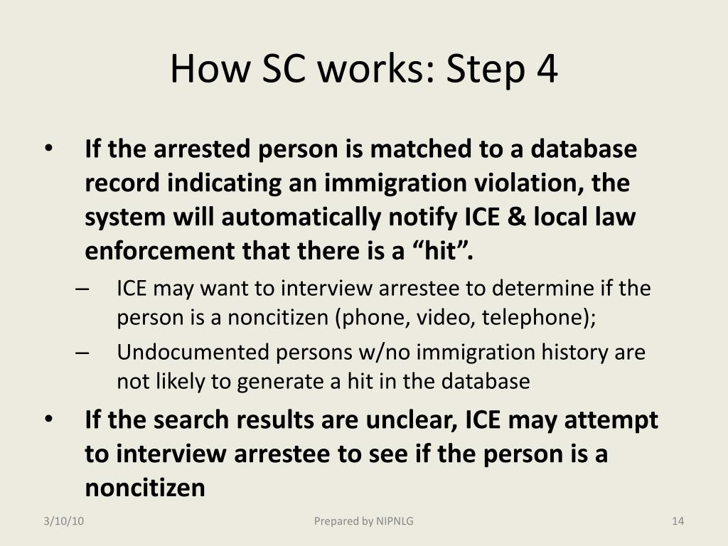How SC works: Step 4