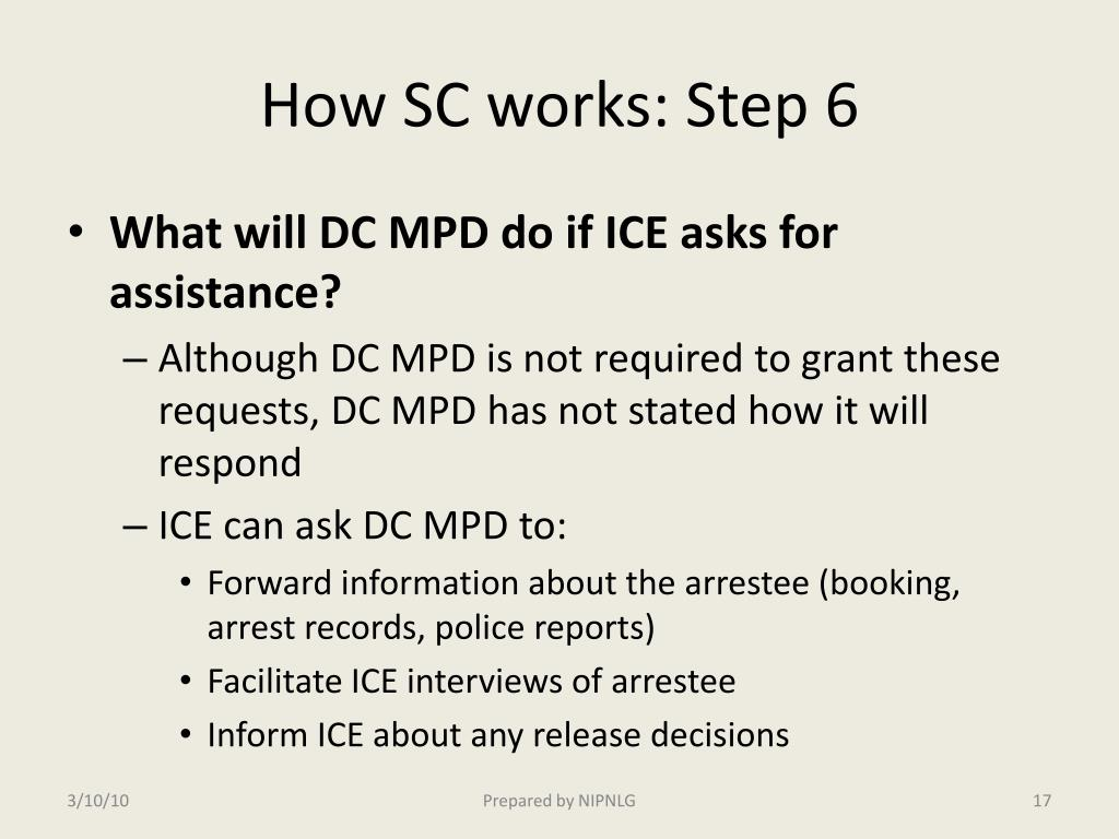 How SC works: Step 6