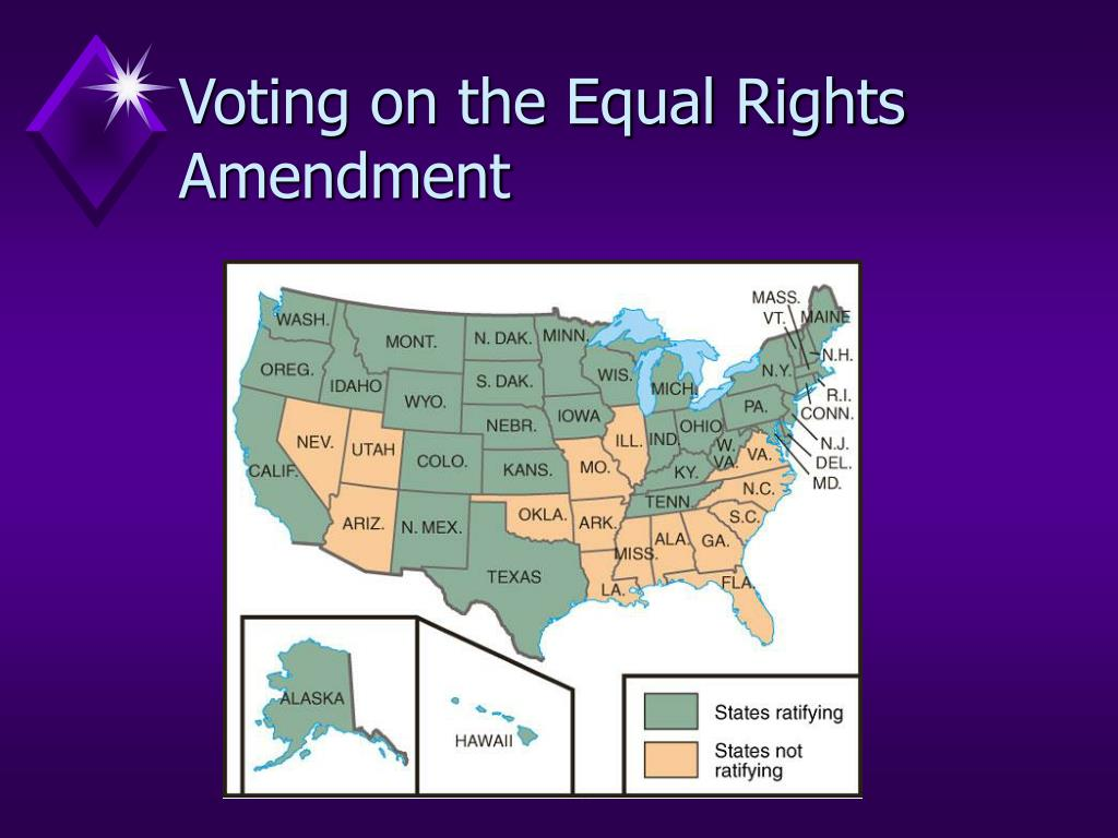 Voting on the Equal Rights Amendment