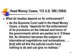 head money cases 112 u s 580 1884