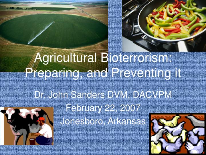 preparing for bioterrorism essay Overview of potential agents of biological terrorism miller jm agents of bioterrorism preparing for bioterrorism at the community health care level.