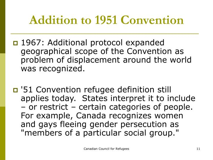 the 1951 refugee convention pdf