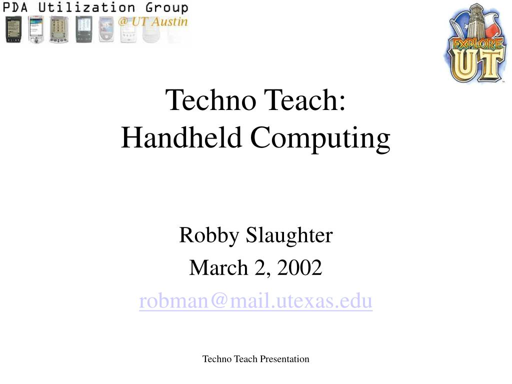 Techno Teach: