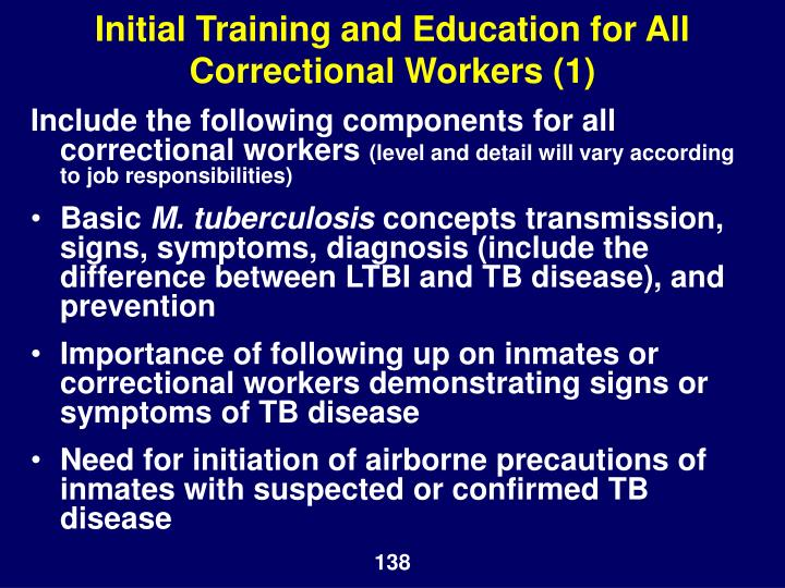 Initial Training and Education for All Correctional Workers (1)