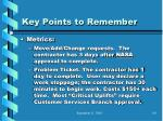 key points to remember89