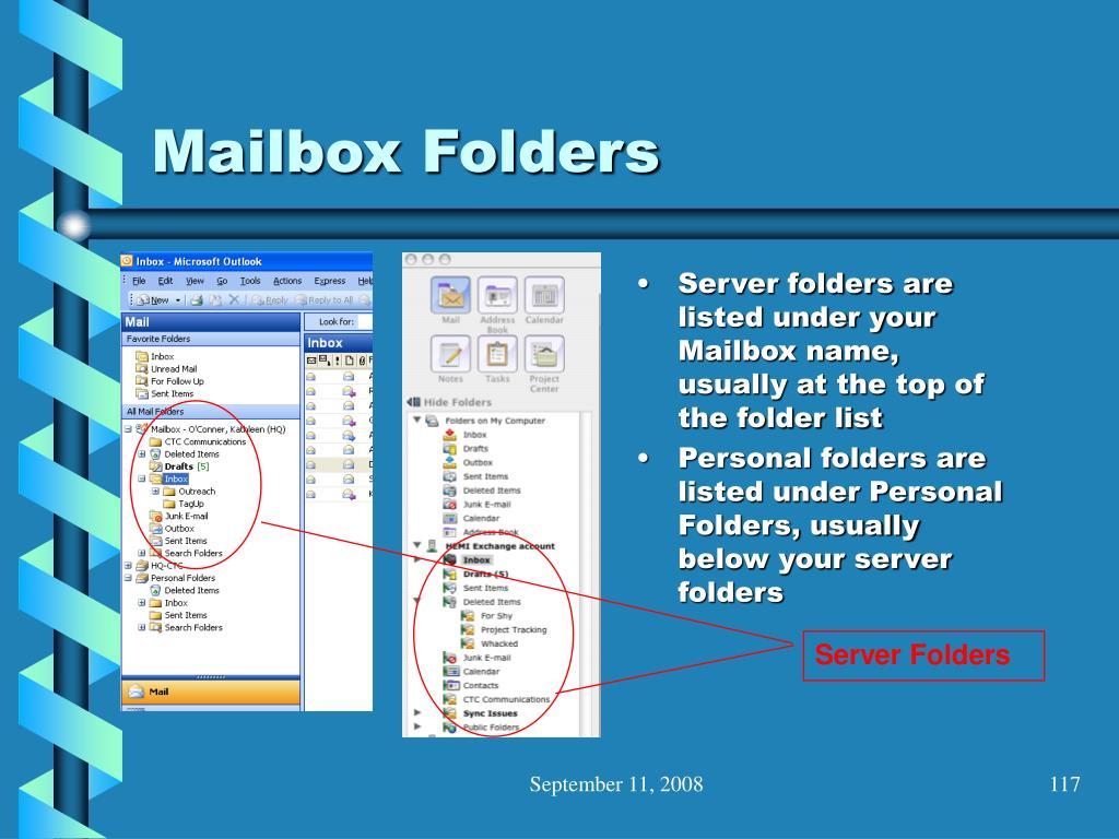 Server Folders