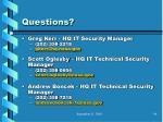 questions85