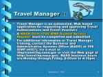 travel manager