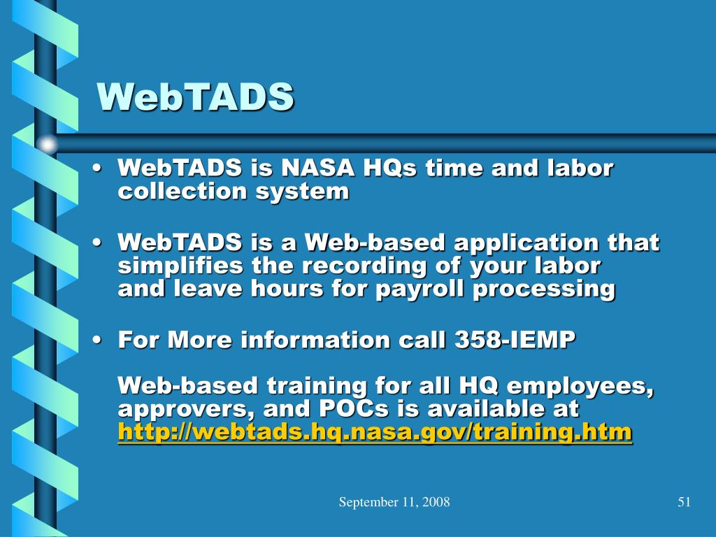 WebTADS