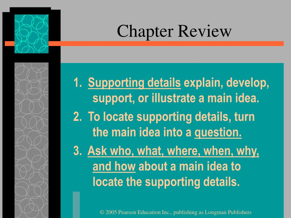 Chapter Review