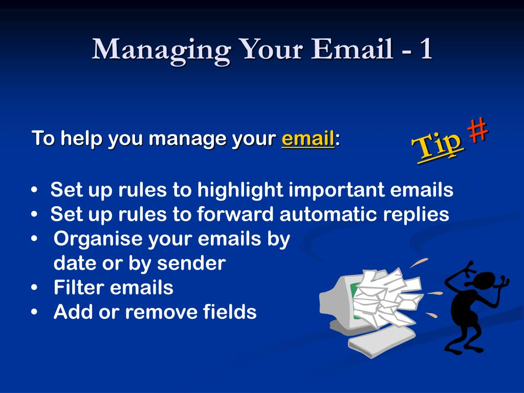 Managing Your Email - 1