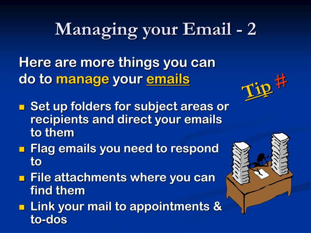 Managing your Email - 2